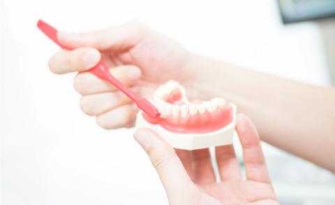 歯のクリーニングはもちろん、一人ひとりに合わせた歯磨き指導も行っています。